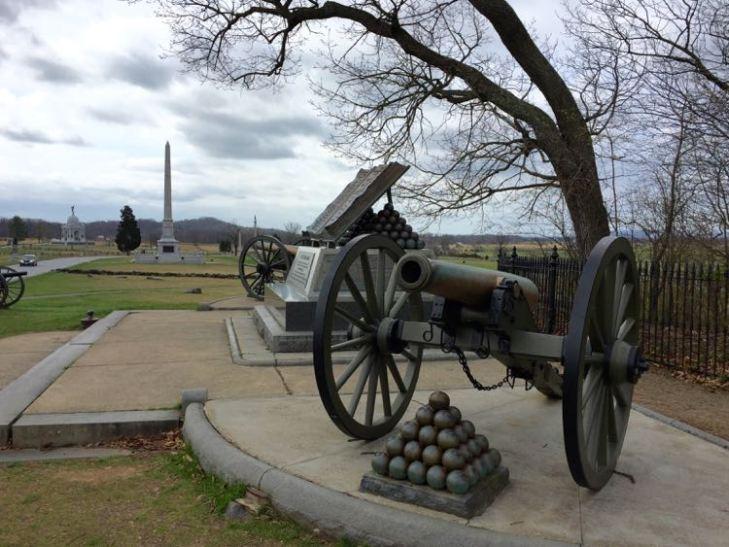 High Water Mark Gettysburg NMP