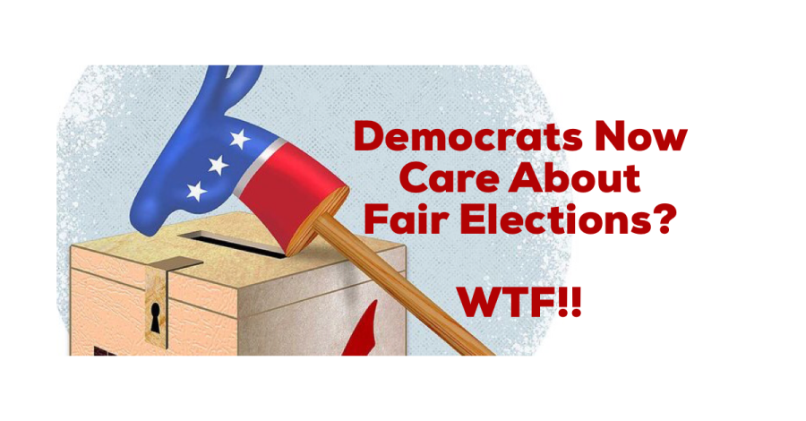 Why are Democrats suddenly SO concerned about electionintegrity?
